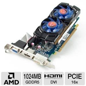 VisionTek Radeon 6670 1GB GDDR5 R2 VT Retail Graphics Card